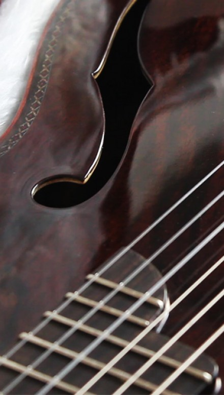 "Indonesian Rosewood back, sides & top, ""Stradivarius Model"" Double top Concert Classical Guitar"