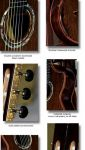African Walnut B&S, Kingwood Top Concert Classical Guitar
