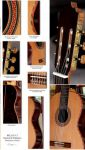 "The Bellucci ""Segovia Model"" Concert Guitar Concert Classical Guitar"