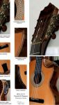 Walnut Burl B&S Cedar Top Concert Classical Guitar