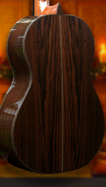 African Wenge B&S Englemann Spruce top Concert Classical Guitar