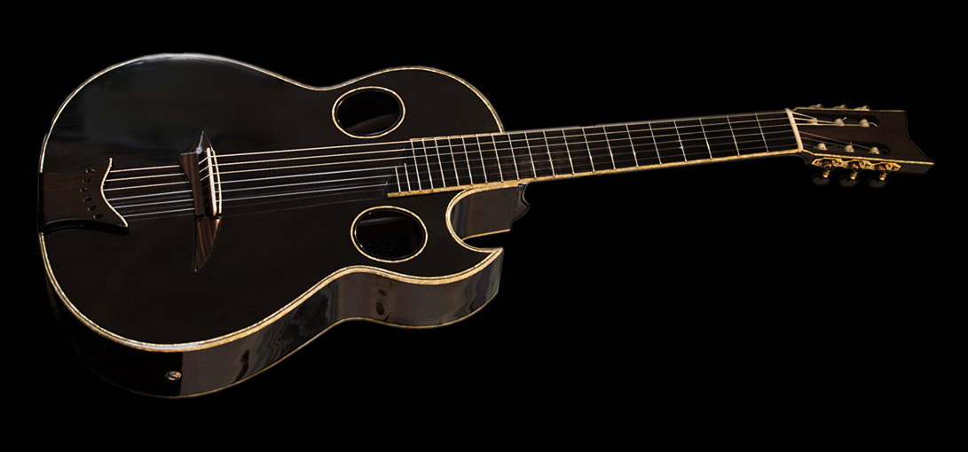 Angus Young Guitar Model Concert Classical Guitar