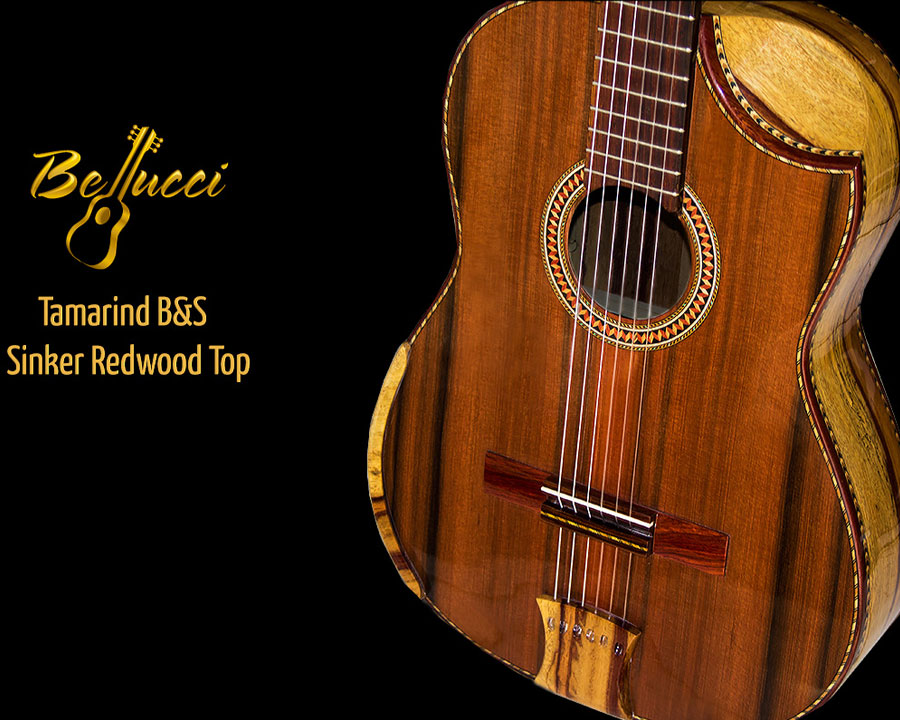 Dan's Custom Tamarind B&S Sinker Redwood Top