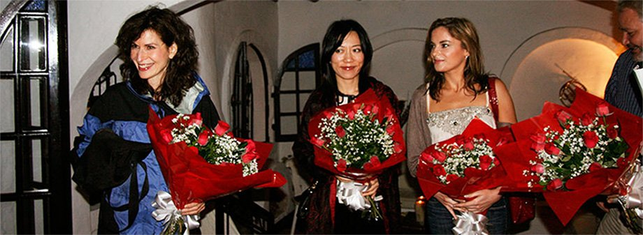 The Evening of a Night to Remember. Ana Vidovic, Sharon Isbin and Xuefei Yang.