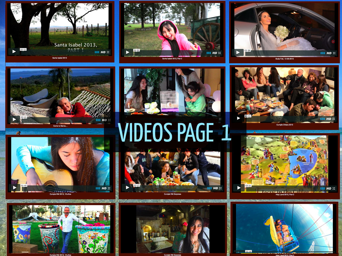Familia: Video Collection, Page 1