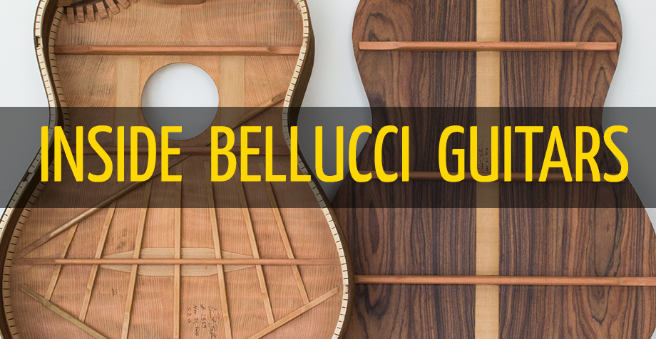 "Inside Bellucci Guitars; ""Voicing"" our Guitars"