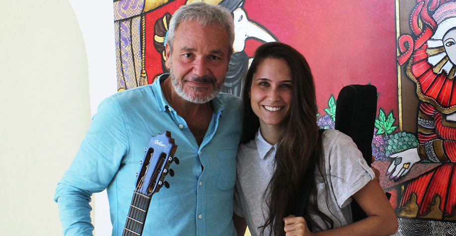 Gyana Michelagnoli completed the Intensive Guitar Course with honors