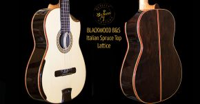 New Custom 7-strings Blackwood Guitar