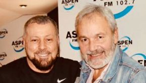 Bruno Masi hosts Renato Bellucci LIVE at Aspen Radio 1027 FM