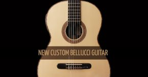 New Custom Bellucci Guitar