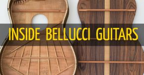 Inside Bellucci Guitars