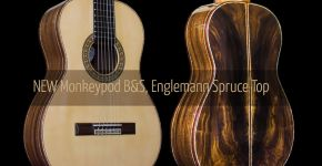 New Monkeypod B&S Spruce Top Hauser