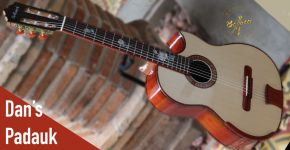 New Custom Guitar Dan's Padauk #1694