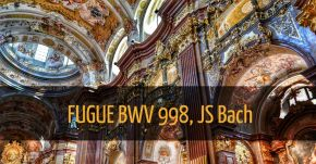 Heaven: Fugue BWV 998 Amazing transcription