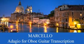New Guitar Transcription: Alessandro Marcello Adagio