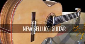 New Bellucci Guitar In Stock
