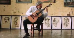 Renato Bellucci 50th Anniversary: playing in Barrios' Childhood Home