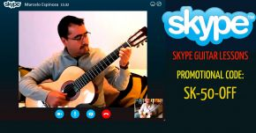 Join my live Guitar Teaching Via Skype Get the promotional discount Coupon