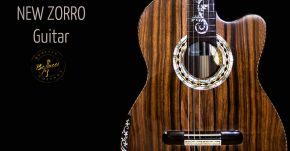 New Bellucci Zorro Custom Guitar